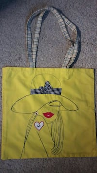 Handmade fabric bag (never used) / Sac