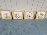 Set of 4 floral pictures Corinth, 38834