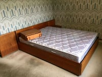 DANISH TEAK QUEEN BEDROOM SET. DELIVERY IS EXTRA  Edmonton, T6G 1W5