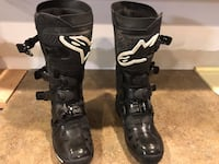 pair of black Fox racing boots Alexandria, 22308