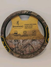 BROWNING SIGNATURE AUTOMOTIVE STEERING WHEEL COVER 15