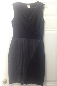 Black dressy dress for parties