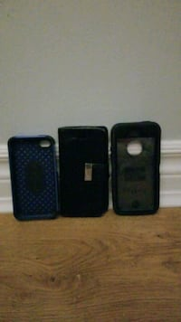 iPhone 4 to 5 cases and two of them are OtterBoxe cases. Kitchener, N2P 2A5