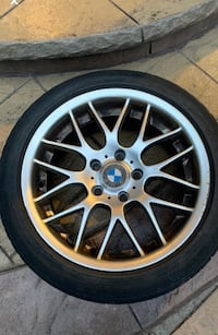 Almost new 4 BMW Winter tires with Alloyed Rims Brampton, L7A 1T2
