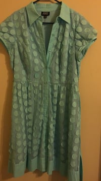 green and white floral dress Alexandria, 22306
