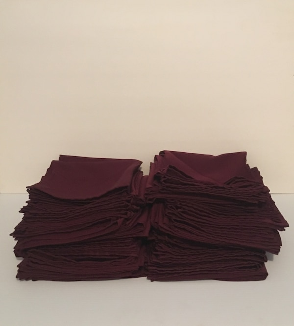 Cloth napkins-Burgundy 8f0664a9-2768-4710-b590-36ff88ff3331