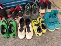 four pairs of assorted shoes Kailua
