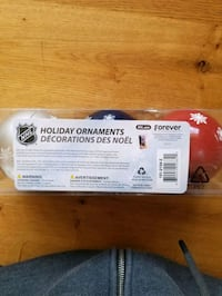 NHL christmas decorations