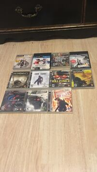 PS3 games 10$each  Grand Junction, 81503