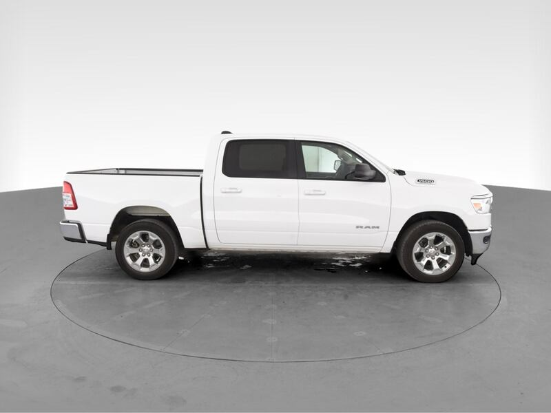 2019 Ram 1500 Crew Cab pickup Big Horn Pickup 4D 5 1/2 ft White 12