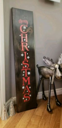 Merry Christmas Rustic Wood Signs Brampton, L6Y 4L6
