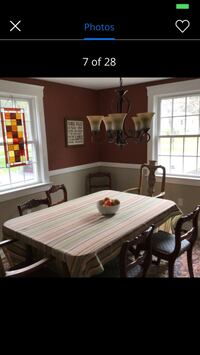 Drexel Dining Room Set with 5 chairs Bedford, 01730
