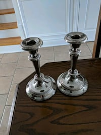 2 silver candal holders i have 2 sets 789 km