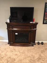 Electric cherry wood fireplace Stafford, 22554