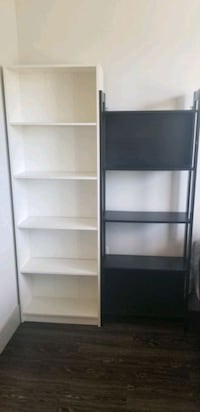 Two IKEA Bookcases