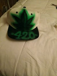 Airbrushed hat Las Cruces