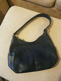 Blue Leather one strap purse Boston, 02135