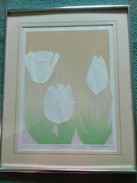 Tulip Wall Picture - signed