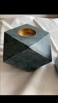 Marble Candle Holders (Brand New!)