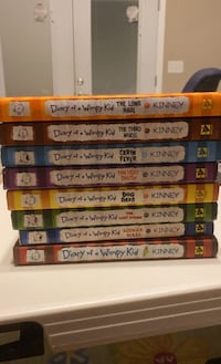 Diary of a wimpy kid 1-9 (besides 8)