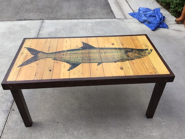 Awesome Shipyard Ink Reclaimed Wood Dining Table Tarpon 66x35x30