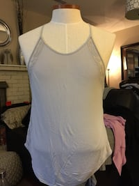 Aritzia wilfred gray halter style tank top size:large Richmond, V7A 1H2