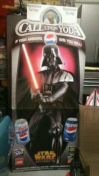 2005 Star Wars Darth Vader Pepsi display brand new Chicago, 60638