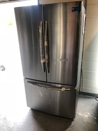 New stainless Frenchdoor refrigerator plugged in and cold  Orlando, 32807