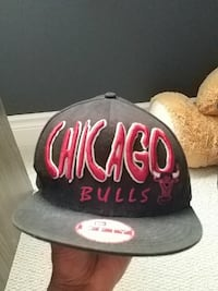 black and red New Era Chicago Bulls 9fifty cap King City, L0G