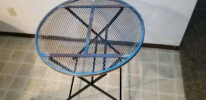 Patio furniture table only
