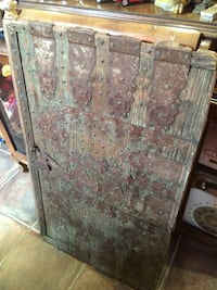 Brown steel cabinet