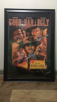 Framed movie poster  -  Clint Eastwood Farmers Branch, 75244