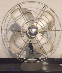 Vintage 1950's Eskimo Oscillating Fan!  All original!  Works perfect! Vernon, 07462