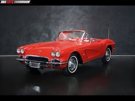 1962 Chevrolet Corvette Fuel Injected Numbers Matching