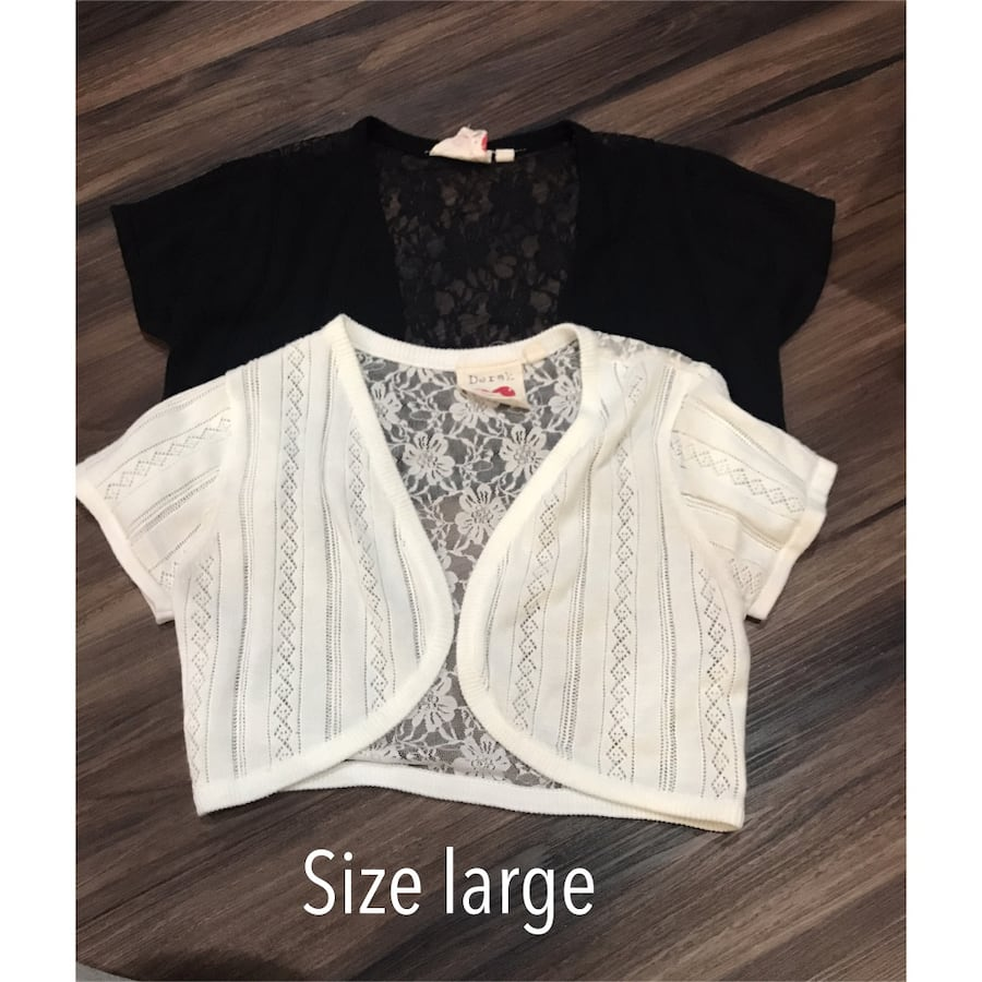 Black and white cardigan . Perfect with tank tops or dresses