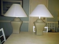 two tan ceramic table lamps Myrtle Beach, 29588