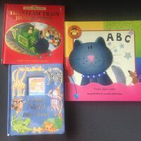 Kid's hard cover story books - $2@