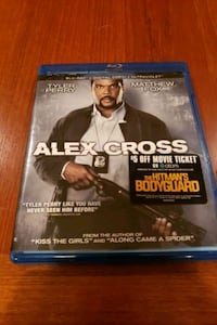 Alex Cross BluRay Movie White Marsh
