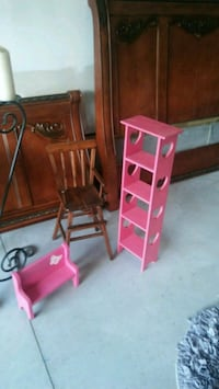 Baby doll chairs and shelf Franklinton, 27525
