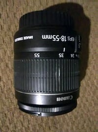 black Canon EFS 18-55mm camera lens Big Spring, 79720