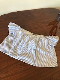ZARA off shoulder top (used)  Coquitlam, V3K 5K8