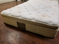 King Mattress floor model. Good brand. delivery 40 Edmonton, T5X 1C2