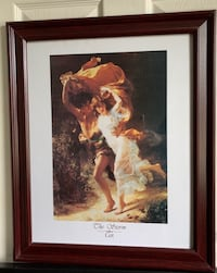 """The Storm """"Cot"""" Framed 19.25"""" x 23.25"""" Picture - REDUCED"""