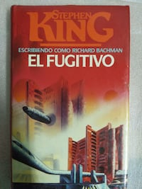 Stephen King EL Fugitivo libro MADRID