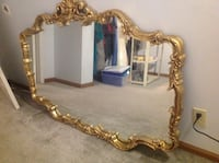 Mirror Gilted Gold With Fancy Scrollwork Monroe, 98272