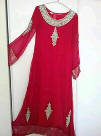 women's red and gold dress Mississauga, L5N