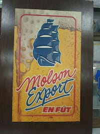 Molson Export mancave bar sign Oshawa, L1G 4W6