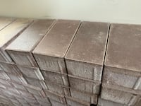 Oaks red pavers unused 240 bricks for sale Vaughan, L6A 4A7