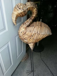 Wicker flamingo South Woodslee, N0R 1V0