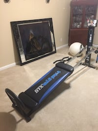 Black and blue total gym xls exercise equipment Antioch, 94531